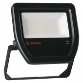 FLOODLIGHT  30W/2160/6500K BLACK IP65   2160Лм 185x162x26 LEDV - LED прожектор OSRAM
